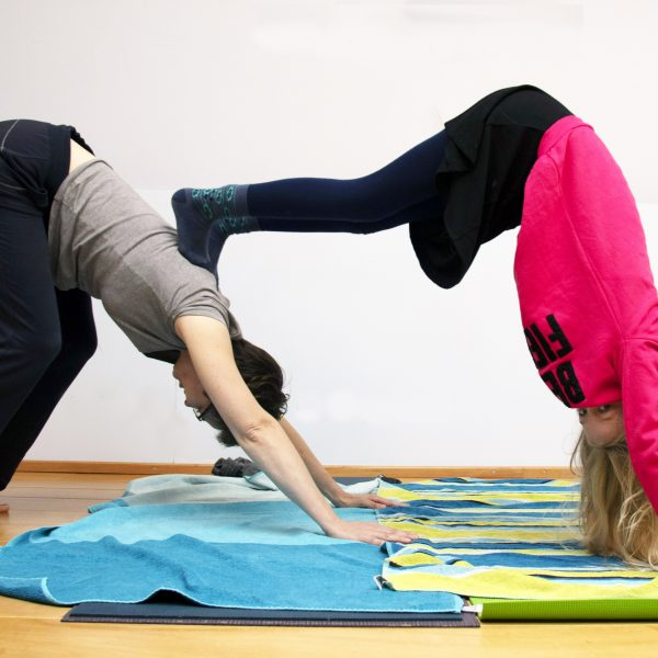 ouder en kind yoga workshop in utrecht