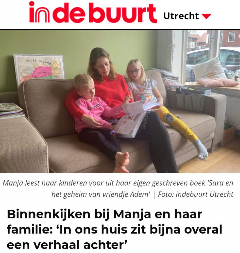interview HSP ontspan kindercoach Manja in In de buurt hoograven Utrecht