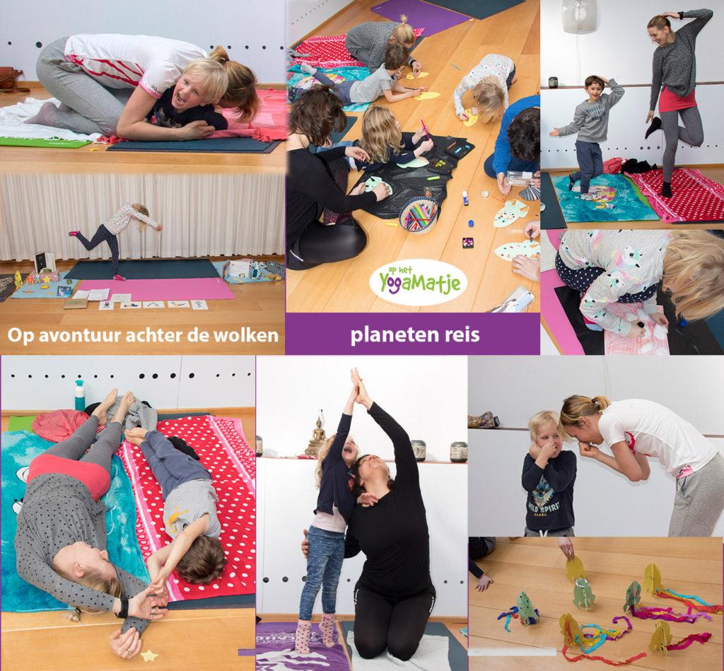 ademhalingsoefeningen en meditatie voor kinderen samen met kinderyoga en meditatie