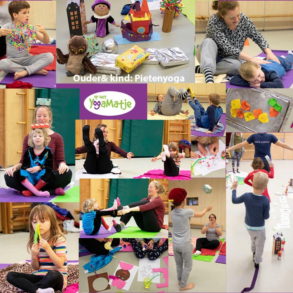 yogaworkshop met kinderyoga, meditatie, mindfulness  en ademhaling voor ouder en kind in Utrecht