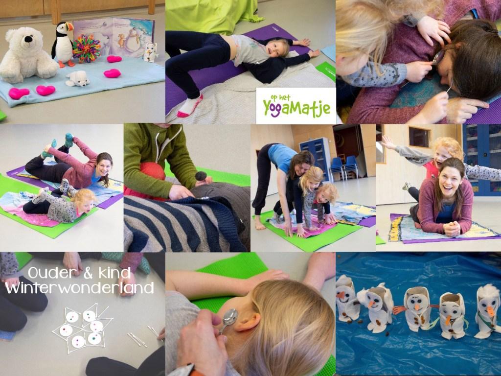 mama en kind yoga workshop in Utrecht om slaapproblemen te verminderen en kinderstress te reguleren