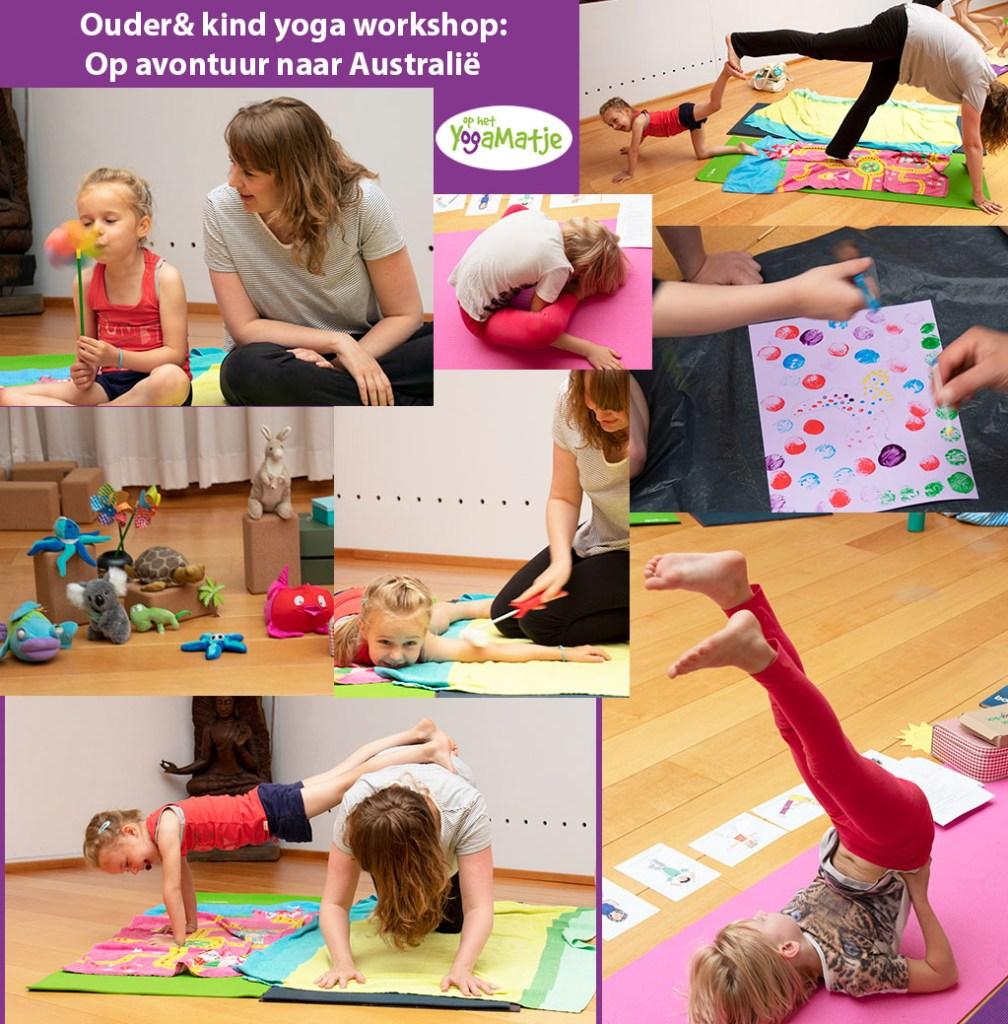 op yoga avontuur met je kind in een ouder & kind yoga workshop met kindermeditatie en kinder ademhalingsoefeningen