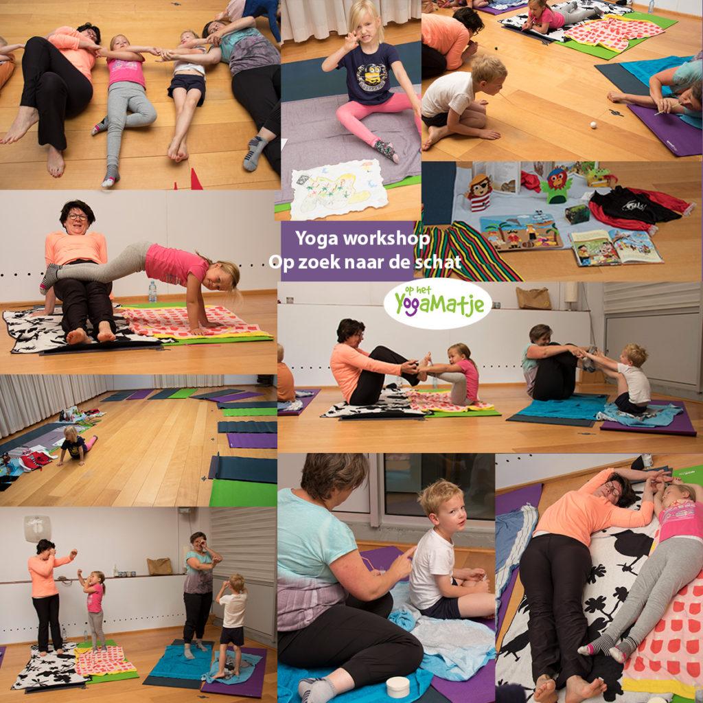 landen in je lijf, gronden en de verbinding met je kind versterken in een ouder en kind yoga workshop