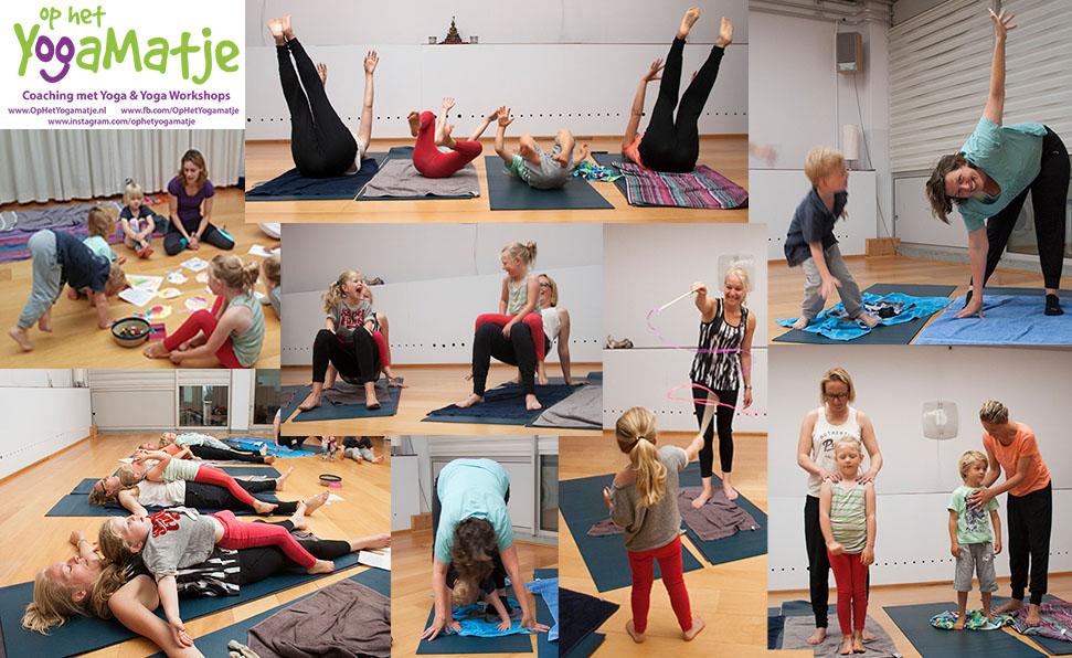 slaapproblemen verminderen na een ouder en kind yogaworkshop voor HSP kinderen in utrecht
