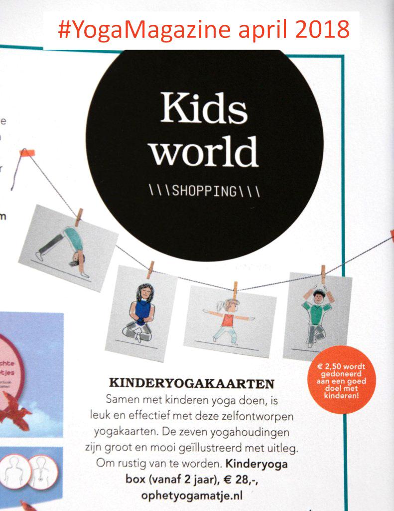 kinderyoga kaartenset voor hooggevoelige kinderen om slaapproblemen te verminderen, zelfvertrouwen te vergroten en te landen in het lijf